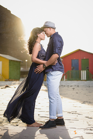 """Muizenberg engagement shoot"""